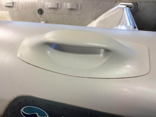 reinigen rubberboot